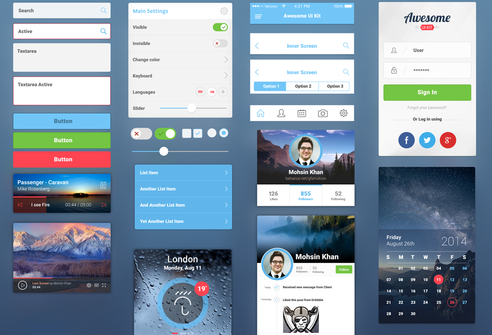 Awesome-Mobile-UI