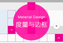 Android设计规范 Material Design-Layout(2 度量与边框)
