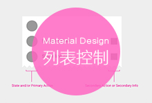 Android设计规范Material Design-Components(9列表控制)