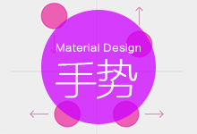 Android设计规范 Material Design-Patterns(2手势)