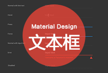 Android设计规范 Material Design-Components(17文本框)