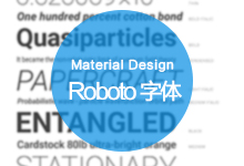 Android设计规范 Material Design-Resources(3Roboto 字体)