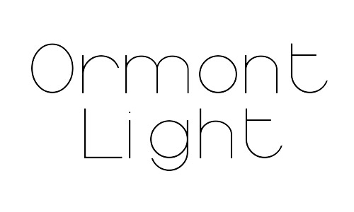 4-ormont-free-thin-font
