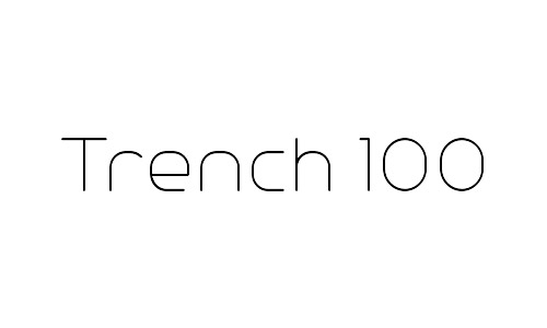 9-trench-thin-fonts