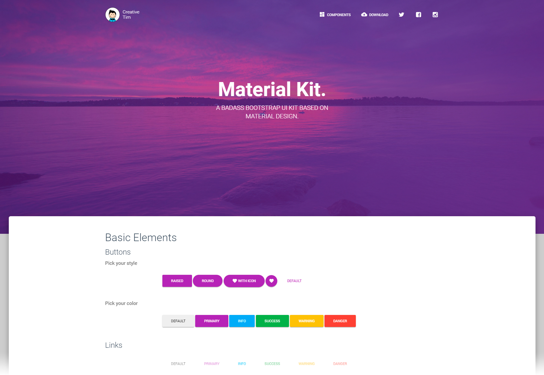 material-design-style-bootstrap-3-ui-kit