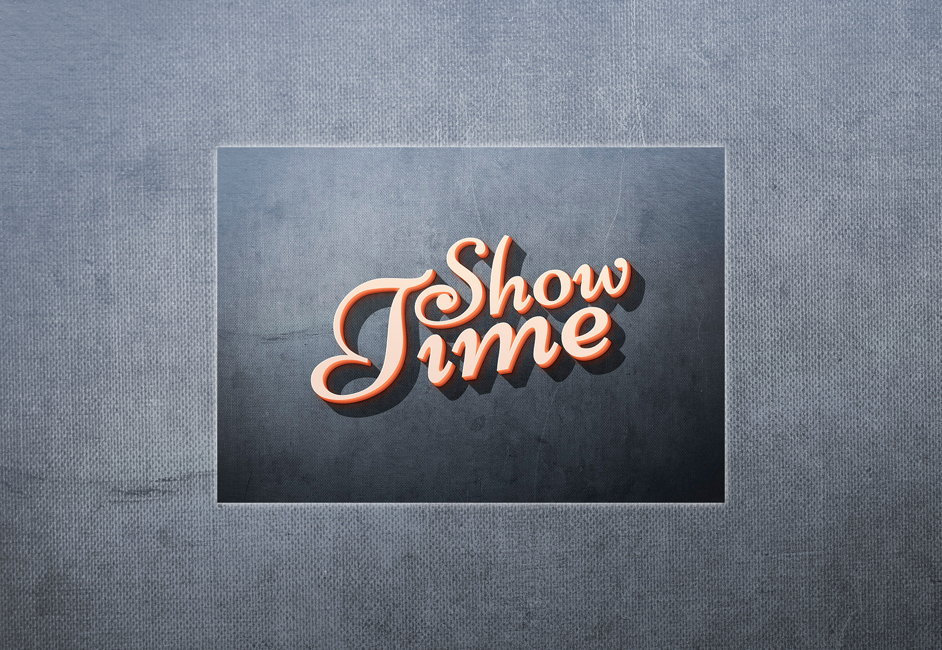 showtime-appealing-3d-text-effect