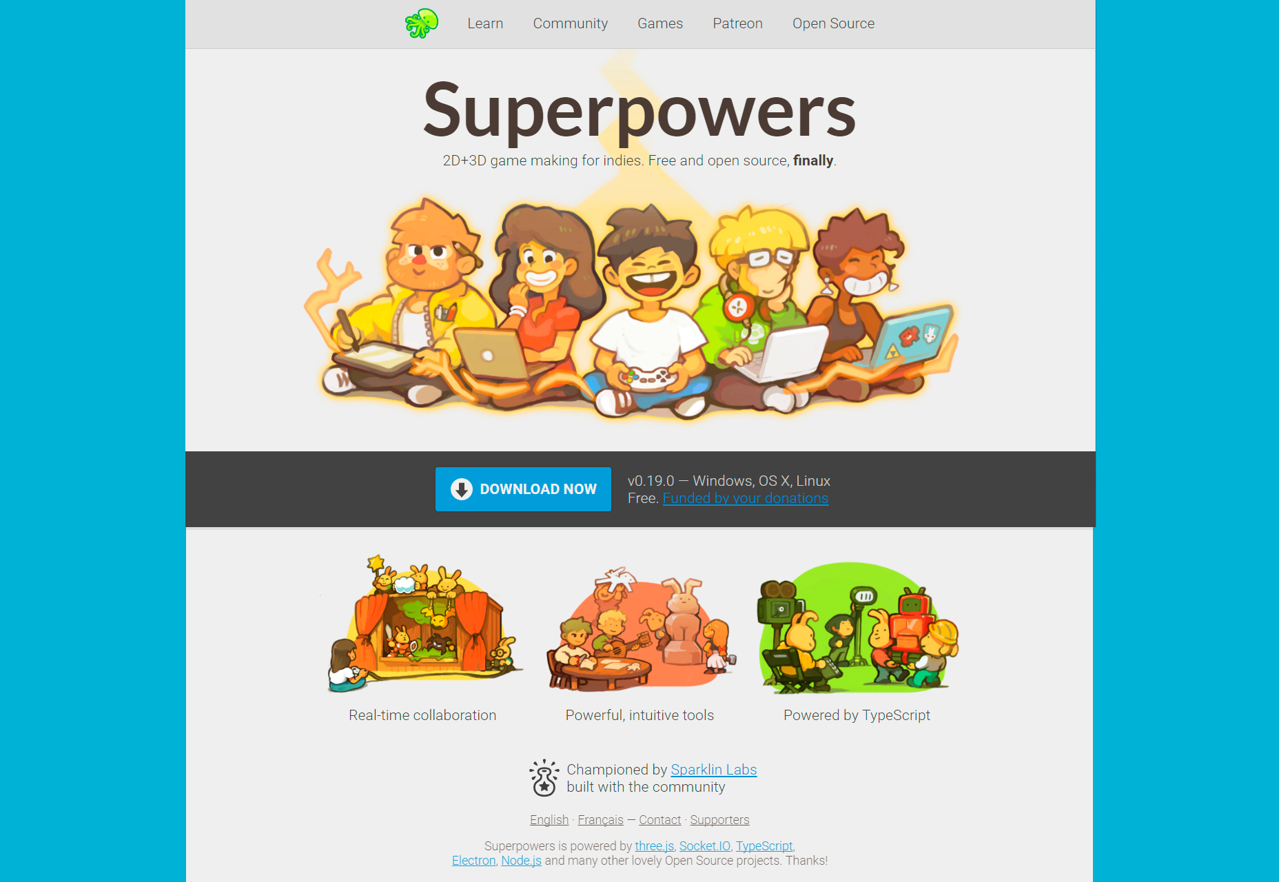 superpowers-2d-3d-open-source-game-making-environment