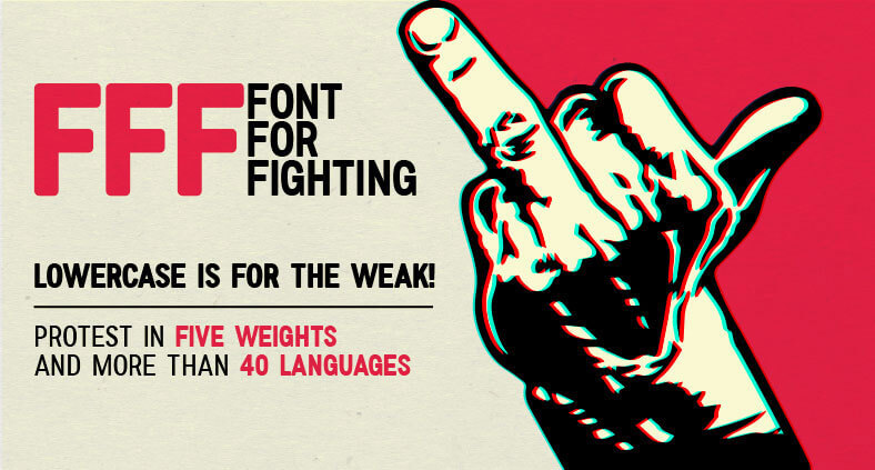 font-for-fighting