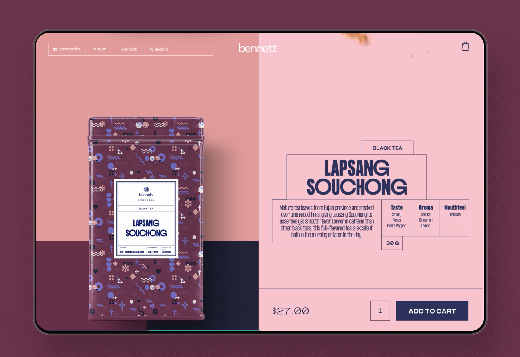 Website design inspiration – Noodle